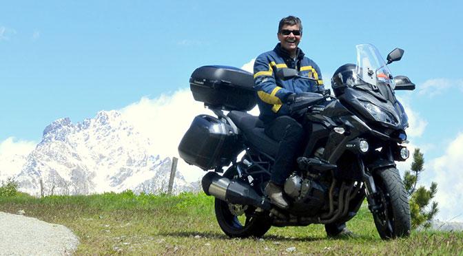 I colli delle Alpi e le motociclette