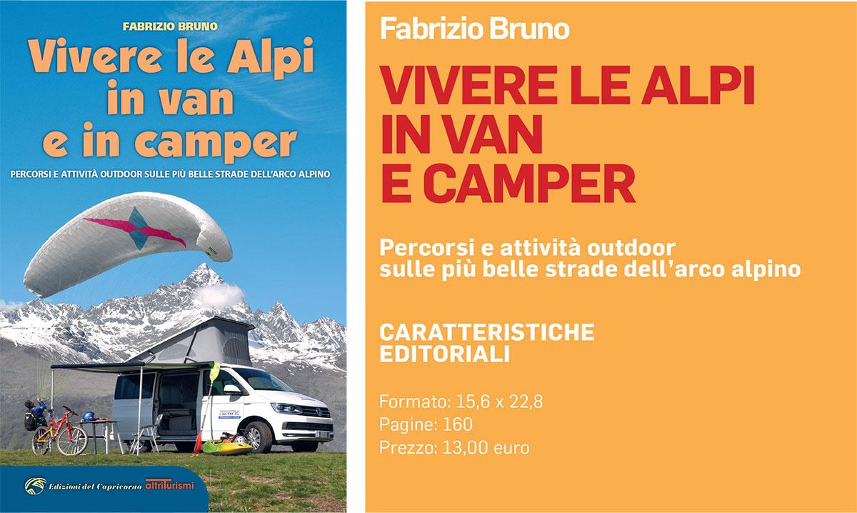In uscita il mio nuovo libro: Vivere le Alpi in van e in camper