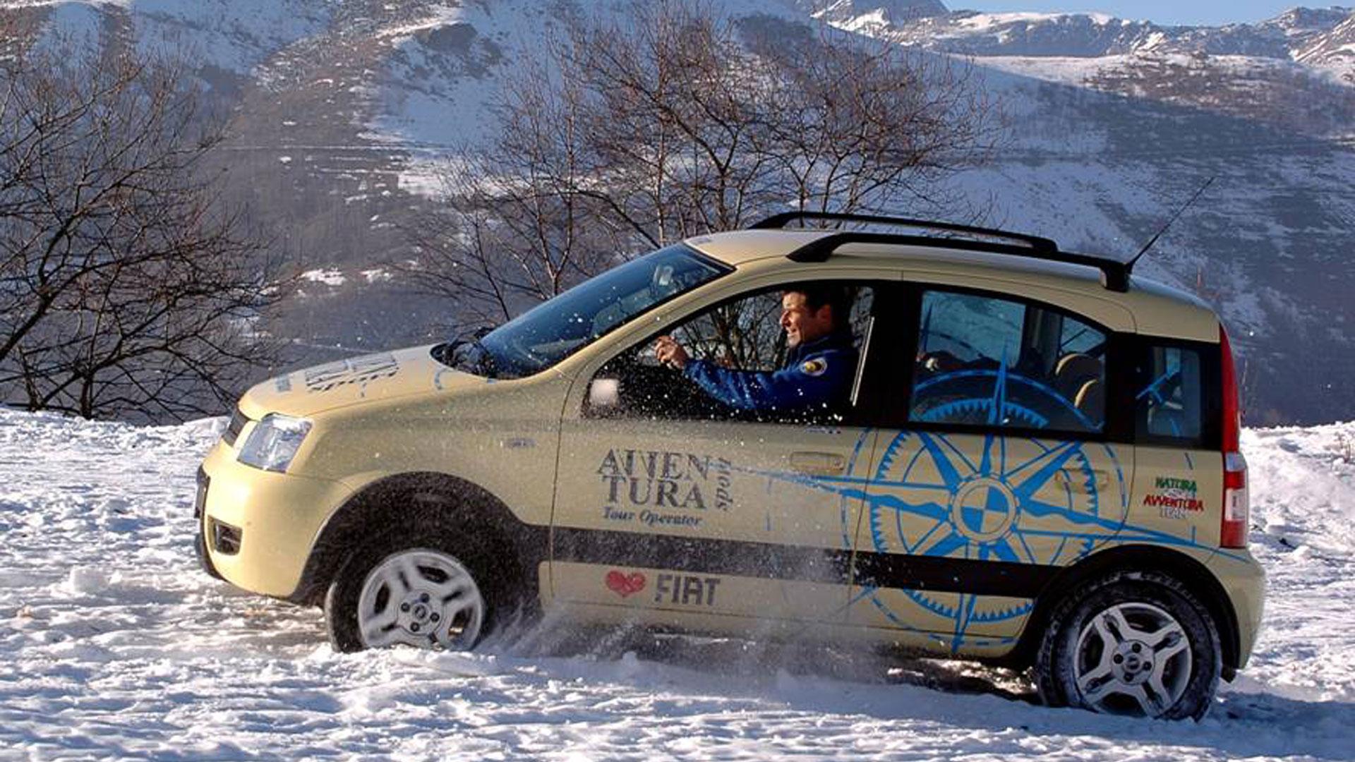 Test drive di Fiat e Panda 4×4