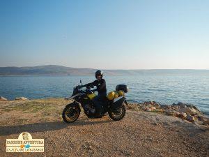 La costa Croata e la Suzuki V-Strom 650