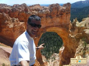 Selfie nel Bryce Canyon