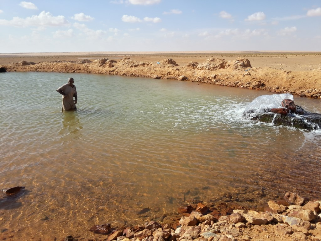 Pozze di acqua calda a pochi passi dalla Pipe Line