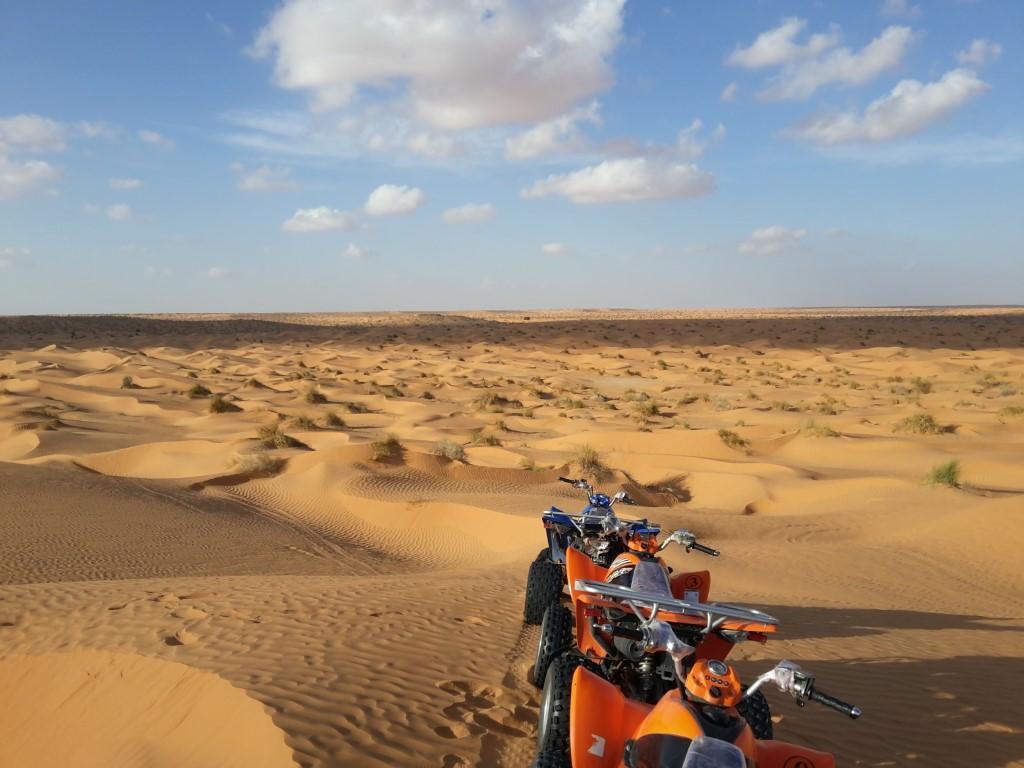 A caccia di dune con il Quad !