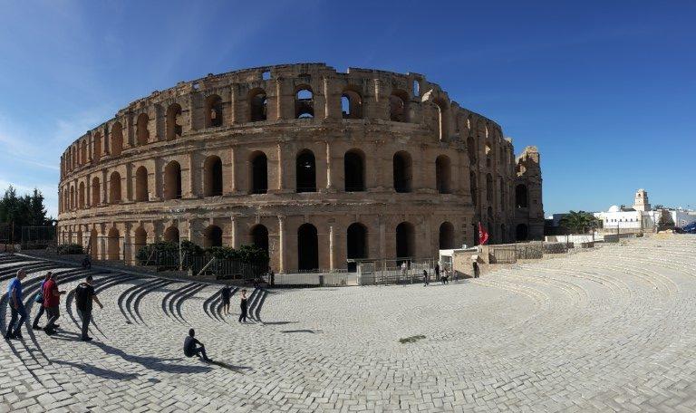 L' anfiteatro di El Jem