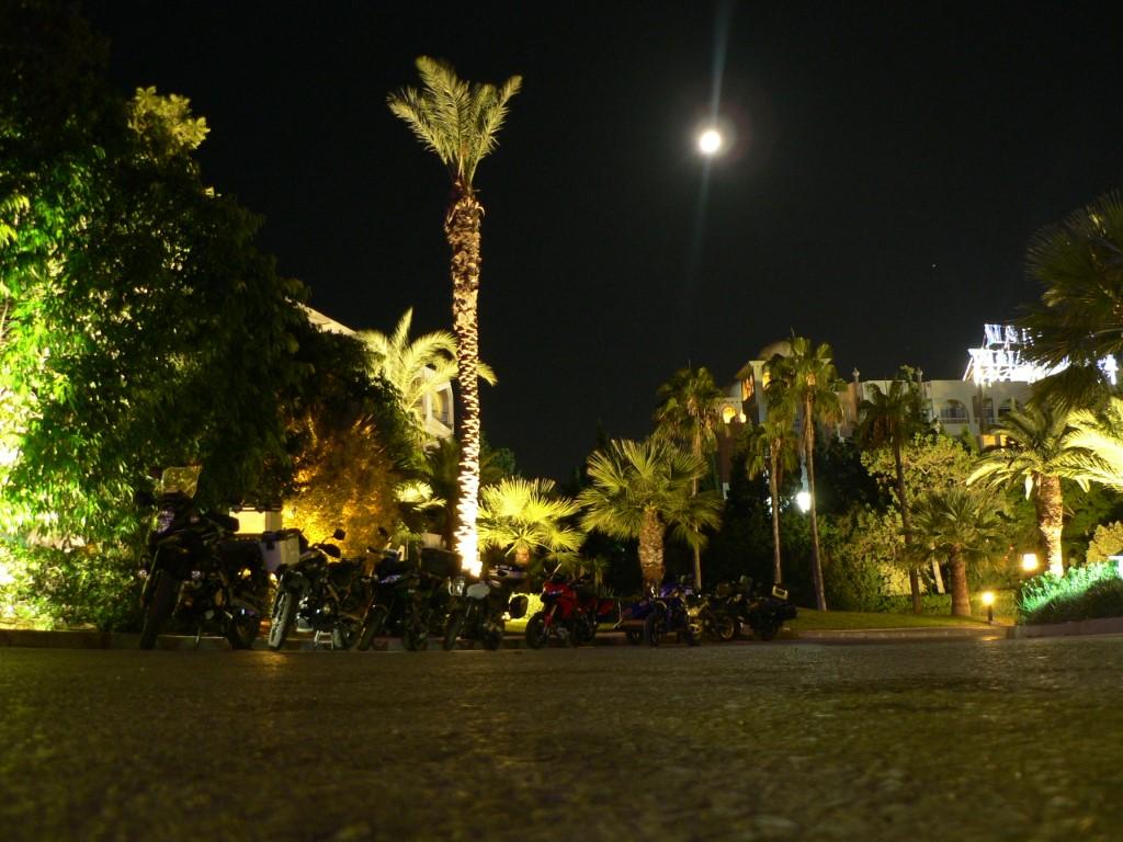 Hotel di lusso per l ultima notte africana...